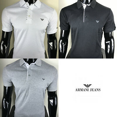 Men's Armani Short Sleeve Polo Shirt