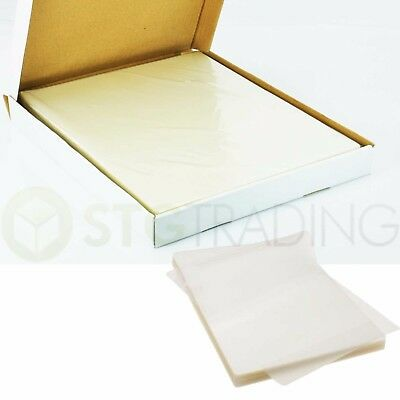 100 A4 Size 150 Micron Gloss Laminating Pouches Photo Digital Image Lamination