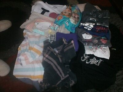 13 items clothes 5-6 years t shirts , leggings