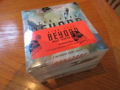 2017 Star Trek Beyond Movie Trading Cards Factory Sealed Archive Box - Exclusive