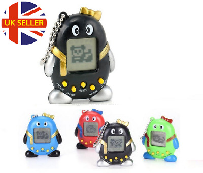 Cyber Pet Tamagotchi 168 Pets in 1 Connection Electronic Virtual Retro Kids Toys