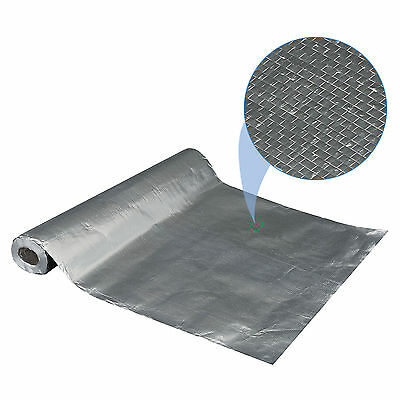 "Radiant Barrier Reflective Insulation, 25.5"" wide 500 sqft, Attic Solid"