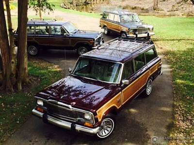 1981 Jeep Wagoneer GRAND WAGONEER by CLASSIC GENTLEMAN 1981 JEEP WAGONEER - GRAND WAGONEER by CLASSIC GENTLEMAN with only 52,200 Miles!