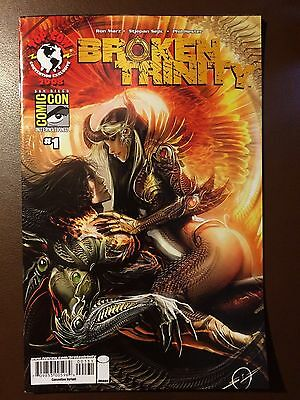 Image Top Cow comics :  BROKEN TRINITY  # 1 , SDCC variant cover, Witchblade