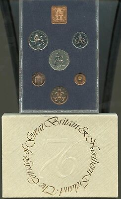 1976 The Coinage Of Great Britain And Northern Ireland Proof Coin Set