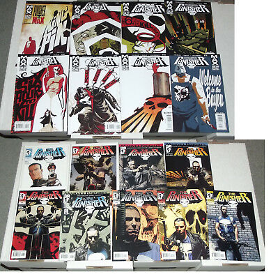 Job Lot of 9x PUNISHER Comics: MARVEL KNIGHTS #2-7, #9-11