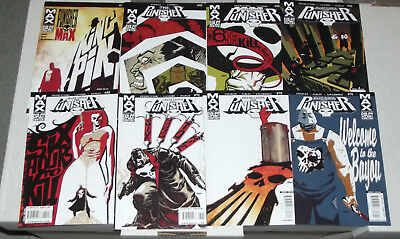 Job Lot of 8x PUNISHER MAX Comics: #1 #65,66,68,69,70,73,74