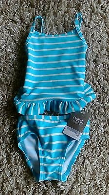 Next Baby Girls New Two Piece Swimsuit Age 3/6 Months Up To 8 Kg Bnwt