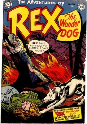 Us Comics Adventures Of Rex The Wonderdog Golden Age Collection On Dvd