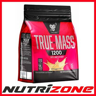 BSN TRUE MASS 1200 Whey Protein Mass Gainer High Protein 4.8kg