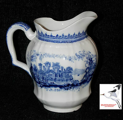 Mintons Dresser Jug 19c Victorian 1871-1896 UK Antique Water Pitcher VGC