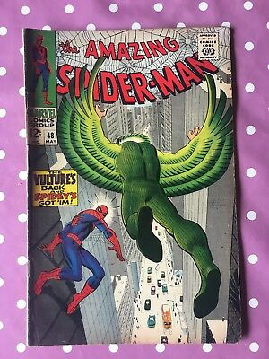 Amazing Spider-Man #48 May 1967. Very Good Condition. The Vulture.