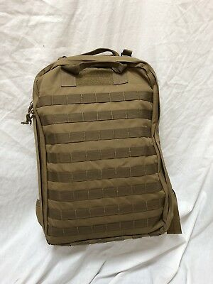 LBT-2670B Slim Medical Backpack Loaded MOJO LONDON BRIDGE TRADING Coyote M9