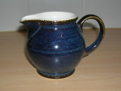 BHS BRECON BLUE SMALL MILK / CUSTARD / SAUCE JUG  - 3.5inchs TALL