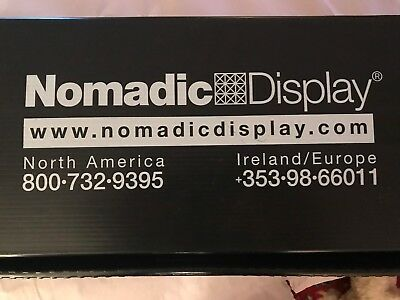 "Nomadic Display 19"" 120V 150W Halogen Instand Trade Show Light Kit Type: Prem-1"