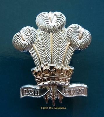 ROYAL REGIMENT OF WALES (21st/41st Foot) CAP BADGE (NN2)