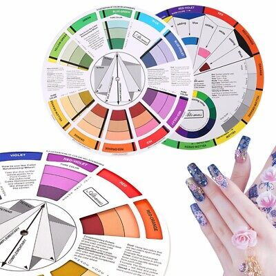 Artists Colour Wheel Mixing Colour Guide Artist Colour Wheel Pocket Portable