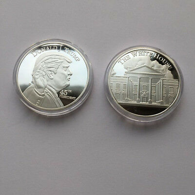 45th United States President Donald Trump White House Commemorative Novelty Coin