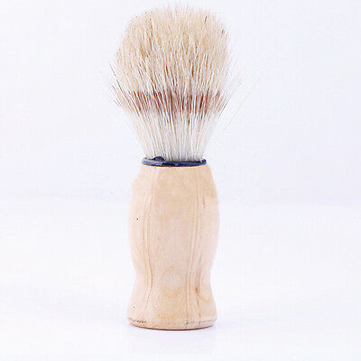 Soft Badger Hair Shaving Brush Shave Barber Hard Wood Handle Salon Cleaning Tool