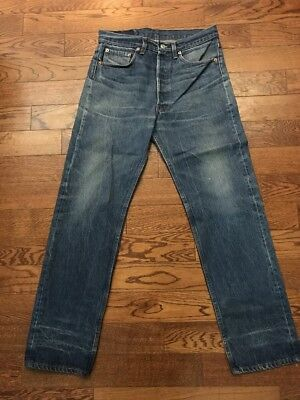 Vintage Levis 501 Made In USA Denim Jeans - 32 X 29.5