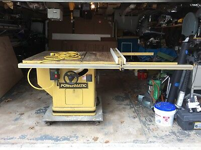 14 inch powermatic  table  saw