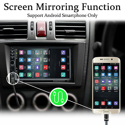 1 DIN HD Autoradio 4.1 Zoll Bluetooth MP5 Player FM AUX mit Fernbedienung USB TF