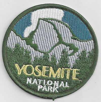 Yosemite National Park Souvenir Travel Patch California