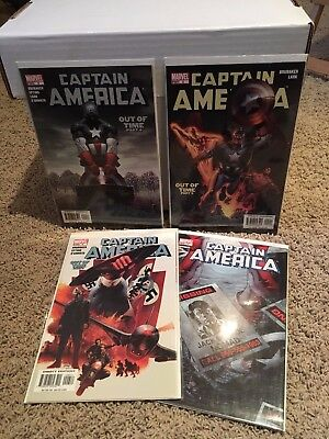 Captain America #6 VF, 1st Print First appearance Winter Soldier Brubaker Epting