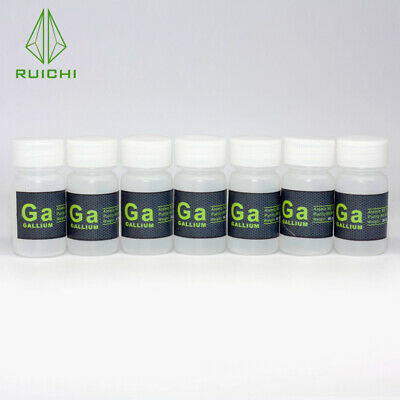 99.99% Pure Liquid Gallium Element Melting Point 29.8 ℃  1kgs