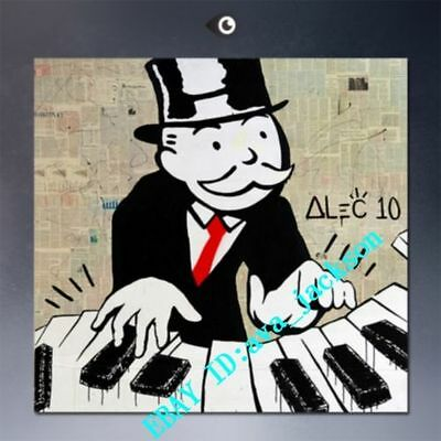 Unframed Hand-painted Portrait Alec monopoly #4 oil painting Art on canvas 24X24