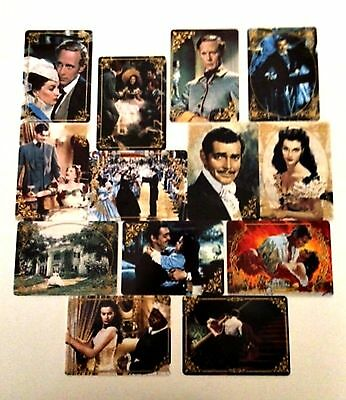 Gone with the Wind Porcelain Cards Hamilton Collection Limited Edition 1995-96