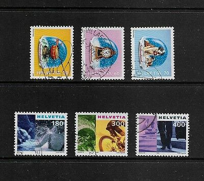 SWITZERLAND - 2000 Snow Storms, Tourism, part sets, used