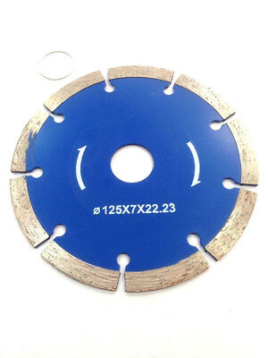 """125mm 5"""" Dry Diamond Cutting Disc Saw Blade Disk Marble Tile Ceramic Concrete"""