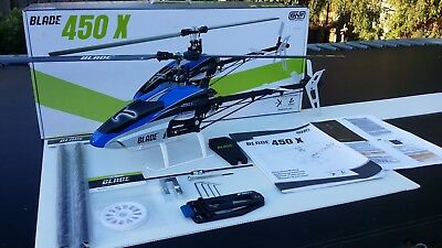 Blade 450X Helicopter BNF – with Battery, Spares & Tools