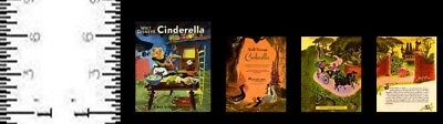 1:12 Scale Miniature Golden Book Cinderella Dollhouse Scale
