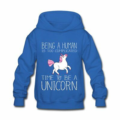 Time To Be A Unicorn Kids' Hoodie by Spreadshirt™