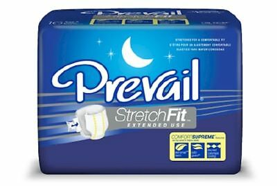 Adult Incontinent Brief Prevail® StretchFit™ Comfort Supreme™Extended Use, Heavy