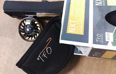 TFO NXT Fly Fishing Combo w/Rod & Reel Case Full Fly Fishing Outfit NEW