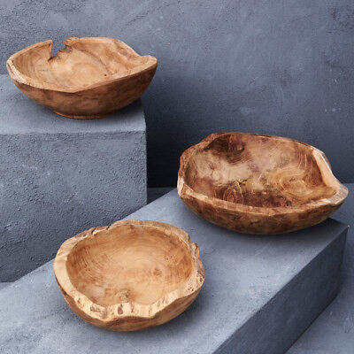 NEW Hand Carved Tree Root Serving Bowl Women's by Inartisan