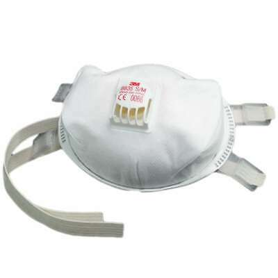 Flu Virus Face Mask FFP3 Valved Safety Virus Bacteria Breathing Respirator