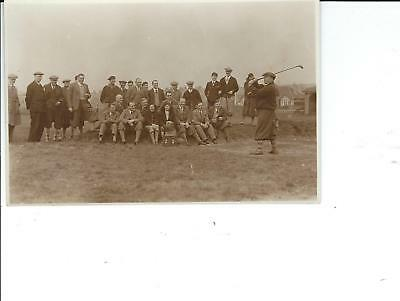 Seasalter Golf Club , Whitstable ; Captain's Driving In : c.1930 ; West & Son.