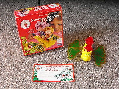 1981 Kenner Strawberry Shortcake Flitter-Bit Butterfly Complete with Box