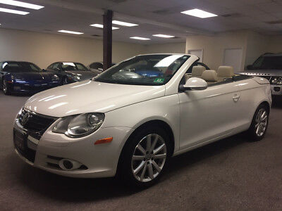 2007 Volkswagen Eos 2.0T Convertible 2-Door low mile free shipping warranty 2 owner clean carfax cheap loaded finance