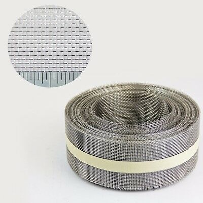 Stainless Steel Insect Mesh Roll 50mm x 10 Metre (#22 0.96mm Hole x 0.22mm Wire)