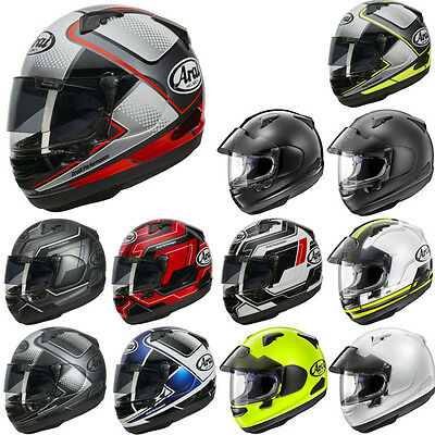 Arai QV Pro Full Face Sports Motorcycle Motorbike Helmet All Colours & Sizes