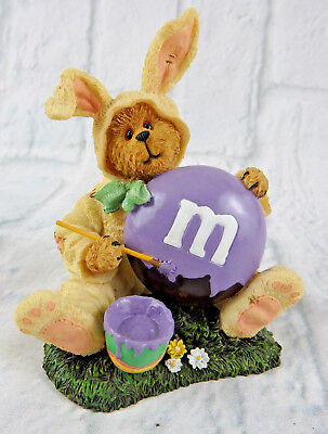 M&M's & Boyd's Bear in a Bunny Suit from The Bearstone Collection for Easter