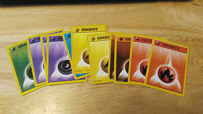 Pokemon Trading Card -Common Energy Neo Genesis Set Unplayed 2 For $1 You Choose