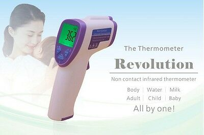 Digital Infrared IR Thermometer Temperature Non-Contact Laser Temp Meter Gun AB