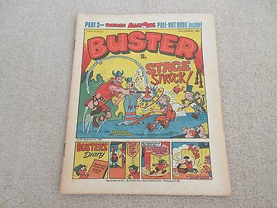 BUSTER COMIC- March 22nd 1980-,  very Good condition