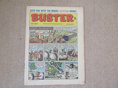 BUSTER COMIC- May 30th 1970, Very good condition + free 4 page COR No 1 pullout